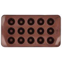 Набор форм для шоколадных конфет и пралине Birkmann Кексики 21x11,5см, силикон, 2 шт (30 конфет) - Birkmann