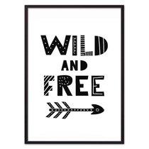 Wild & Free ЧБ, 21x30 см - Dom Korleone