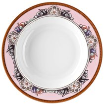 "Тарелка суповая 22см ""Морские звезды"" (розовая) - Rosenthal"