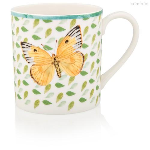 "Кружка Lenox ""Бабочки на лугу.Желтушка"" 300мл зелёная, п/к - Lenox"