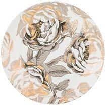 Тарелка Десертная Golden Rose 20,5 см, Белая - Porcelain Manufacturing Factory