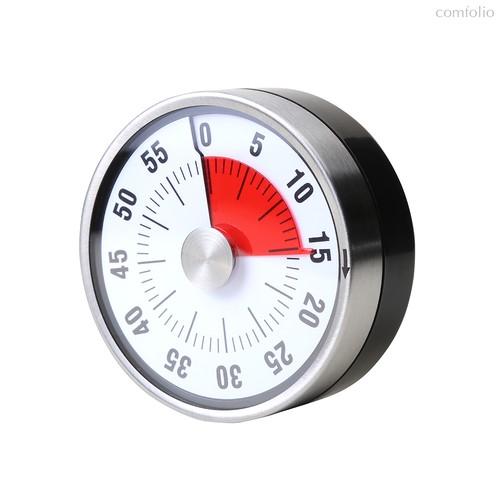 Таймер механический Visual магнитный, цвет серебряный - Balvi