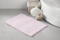 """Коврик для ванной """"MODALIN"""" AREN 40x60 см 1/1, цвет розовый, 40x60 - Bilge Tekstil"""