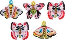 Панно Настенное Бабочки 5 Видов В Ассортименте 10,5*8/10*8/9*8/9*8/9*8 см (Кор=5 шт. ) - Annaluma