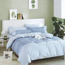 Постельное белье Karna Delux Servin, подростковое, цвет сиреневый, 1.5-спальный - Karna (Bilge Tekstil)
