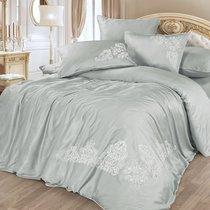 Постельное белье Cleo 31/005-BS, цвет серый, Евро - Cleo