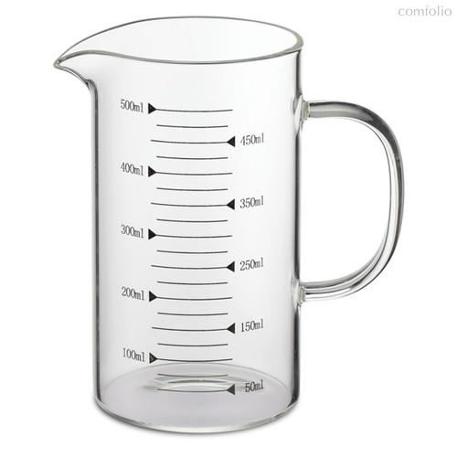 Мерный стакан Weis 500мл, стеклянный, п/к - Weis