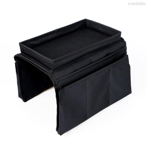 Органайзер на подлокотник дивана Sofa Master, цвет черный - Balvi