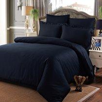 Постельное белье Karna Sansolid, сатин однотонный, цвет черный, размер Евро - Karna (Bilge Tekstil)