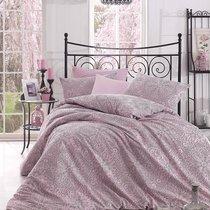 Постельное белье Ranforce Rozi, цвет розовый, размер 1.5-спальный - Altinbasak Tekstil