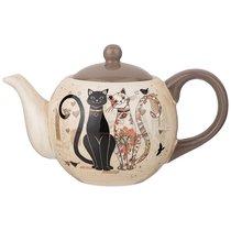 Чайник Заварочный Парижские Коты 900 мл - Huachen Ceramics
