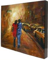 Картина Прогулка под луной 58x58 см - Top Art Studio