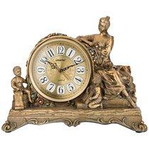 Часы Настольные Кварцевые Цвет: Бронза 33, 5X13X26, 5 см - Shantou Lisheng