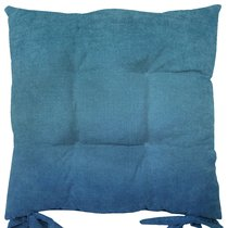 """Подушка на стул """"Морская волна"""", 41х41 см, P705-Z743/1, цвет синий - Altali"""