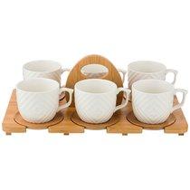 Чайный Набор На 6 Персон Native 12Пр. 300 мл На Подставке - Yinhe Ceramics
