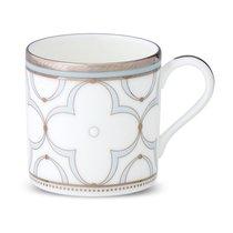 "Чашка кофейная Noritake ""Трефолио, платиновый кант"" 90мл - Noritake"