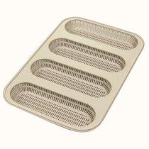Форма для приготовления мини-багетов Mini Baguette Bread силиконовая - Silikomart