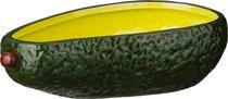 Блюдо Для Запекания Авокадо 550мл 21x12 см Высота 6 см - FUJIAN DEHUA JIAFA CERAMICS