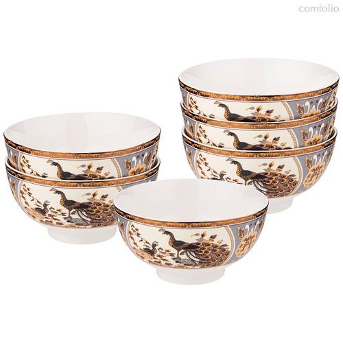 Набор Пиа л Lefard Павлин 6 Шт. 11 см - Guangdong Xiongxing Home Furnishing Ceramics