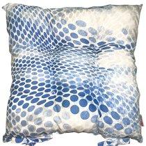 """Подушка на стул """"Ультра blue"""", P405-1920/1, 41х41 см, цвет синий - Altali"""