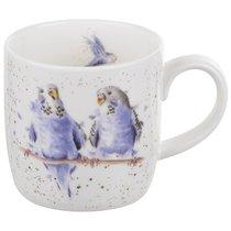 """Кружка 310мл """"Волнистые попугайчики"""" - Royal Worcester"""