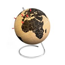 Малый пробковый глобус для путешественников - Suck UK