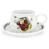 """Чашка чайная с блюдцем Portmeirion """"Помона.Вишня"""" 200мл - Portmeirion"""