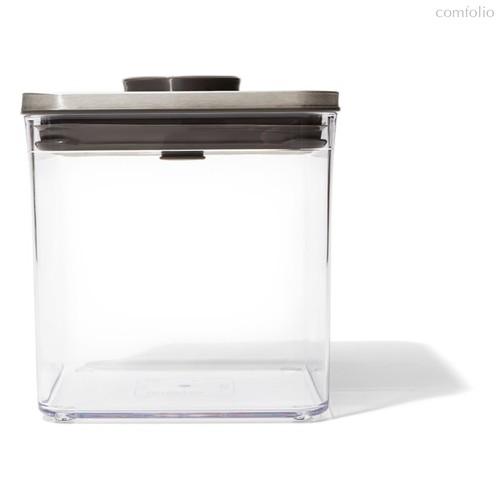 Контейнер для сыпучих продуктов с вакуумной стальной крышкой OXO 2,6л - Oxo