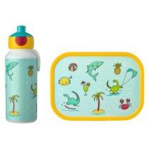 Набор детский ланч-бокс и бутылка для воды Mepal 400мл+750мл (акула) - Mepal