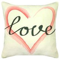 """Чехол для подушки """"Love"""", P02-7777/2, цвет розовый - Altali"""