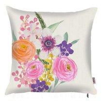 """Чехол для декоративной подушки """"Flutter"""", P502-8351/2, 43х43 см, цвет фиолетовый, 43x43 - Altali"""