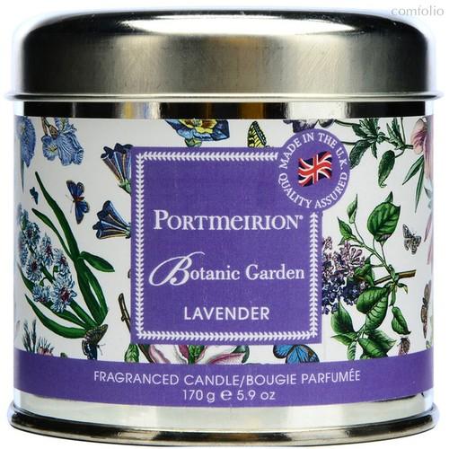 """Свеча в жестяной банке Portmeirion """"Ботанический сад.Лаванда"""" 7см - Portmeirion"""
