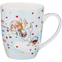 Кружка Lefard Любимые Ангелы 400 мл - Shanshui Porcelain