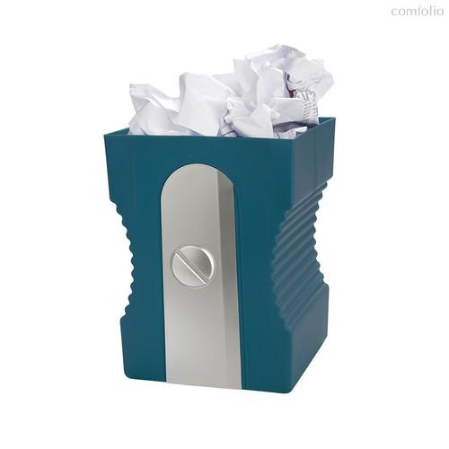 Корзина для бумаг Sharpener темно-синяя, цвет темно-синий - Balvi