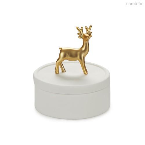 Шкатулка для украшений Deerling, цвет белый - Balvi