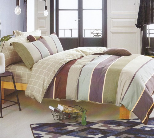 Постельное белье Karna Delux Roksen, 1.5-спальный - Karna (Bilge Tekstil)