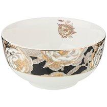 Салатник Golden Rose 14 см, Черный - Porcelain Manufacturing Factory