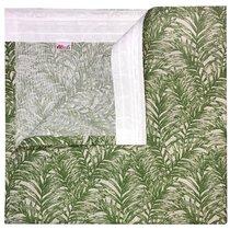 "Штора с рисунком ""Борнео"", 200х270 см, P799-1871/1, цвет зеленый - Altali"