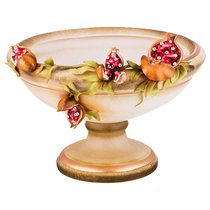 Декоративная Чаша Гранаты - Ceramiche Stella