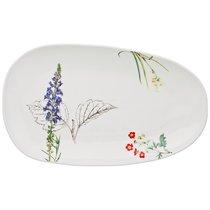 Тарелка Обеденная Овальная Meadow 35,5x21 см 3 шт. - Сhaoan Jiabao Porcelain
