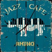 Джаз кафе 30х30 см, 30x30 см - Dom Korleone