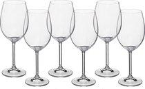 Набор бокалов для вина из 6 шт. GASTRO/COLIBRI 450 МЛ ВЫСОТА=22 СМ (КОР=8Набор.) - Crystalite Bohemia