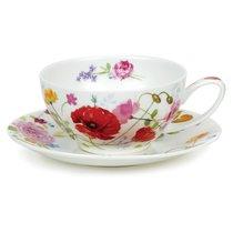 """Чашка чайная с блюдцем Dunoon """"Дикий сад"""" 250мл - Dunoon"""