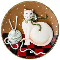 Панно Настенное Кошка Диаметр 21 см Высота 3, 5 см - Hebei Grinding Wheel Factory