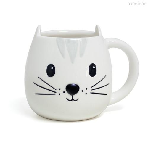 Кружка Kitty 400мл, цвет белый - Balvi