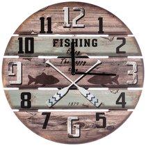 Часы Настенные Кварцевые Old Salt 39x39x4,5 см - Guangzhou Weihong