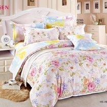 Комплект постельного белья С-167, цвет розовый, размер 1.5-спальный - Valtery
