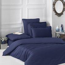 Постельное белье Karna Loft, однотонное, цвет темно-синий, 1.5-спальный - Bilge Tekstil