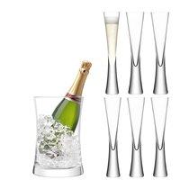 Набор для сервировки шампанского Moya прозрачный - LSA International