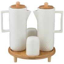 Набор Для Специй Native 4Пр. На Подставке - Yinhe Ceramics